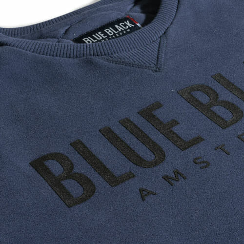 BlueBlack Sweater Milan IndigoBlue back