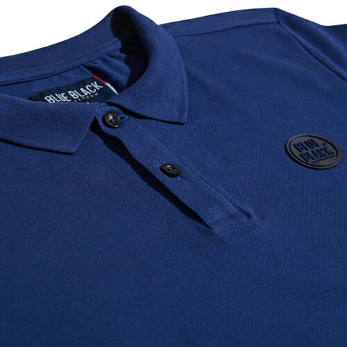 BlueBlack Polo Lasse IndigoBlue Chest