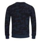 Sweater MATHIJS 2.0 Blauwe Camouflage achter