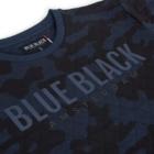 Sweater MATHIJS 2.0 Blauwe Camouflage detail