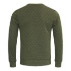 Sweater MATHIJS 2.0 Groen Melange achter