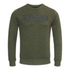 Sweater MATHIJS 2.0 Groen Melange voor