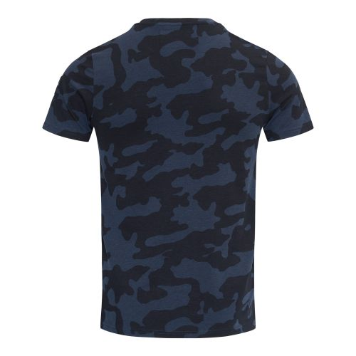 BlueBlack T-shirt Tony Blauwe Camouflage back