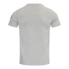T-shirt TONY Grijs Mêlange achter
