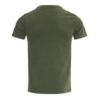 T-shirt TONY Groen Mêlange achter