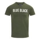 T-shirt TONY Groen Mêlange voor