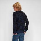 Sweater MATHIJS 2.0 Blauwe Camouflage voor