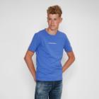 T-shirt TONY Blauwe Camouflage detail
