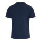 T-shirt TONY Blauwe Camouflage achter
